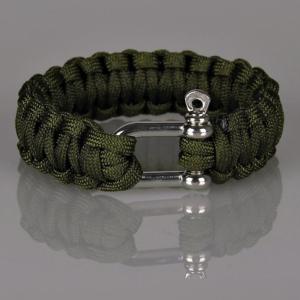 Paracord bracelet - Army armbånd