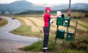 Rask levering med posten